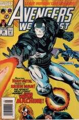 Avengers West Coast (1989-1994) #94 Variant A: Newsstand Edition