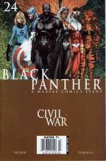 Black Panther (2005-2008) #24 Variant A: Newsstand Edition