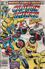 Captain America (1968-1996) #269 Variant A: Newsstand Edition