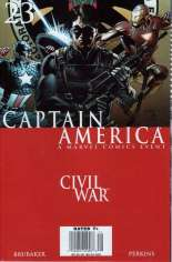 Captain America (2005-2011) #23 Variant A: Newsstand Edition