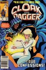 Cloak and Dagger (1983-1984) #4 Variant A: Newsstand Edition