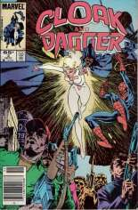 Cloak and Dagger (1985-1987) #3 Variant A: Newsstand Edition