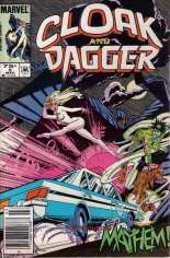 Cloak and Dagger (1985-1987) #5 Variant A: Newsstand Edition