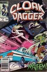 Cloak and Dagger (1985-1987) #5 Variant A: Newsstand Edition