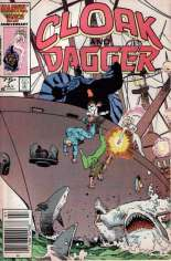 Cloak and Dagger (1985-1987) #7 Variant A: Newsstand Edition