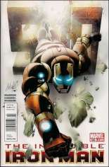 Invincible Iron Man (2008-2012) #500 Variant A: Newsstand Edition