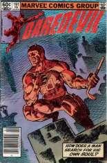 Daredevil (1964-1998) #191 Variant A: Newsstand Edition; Last Frank Miller Daredevil