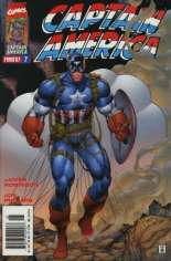 Captain America (1996-1997) #7 Variant A: Newsstand Edition