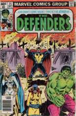Defenders (1972-1986) #75 Variant A: Newsstand Edition