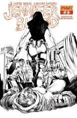 Jennifer Blood (2011-2014) #2 Variant G: 1:25 Sketch Cover