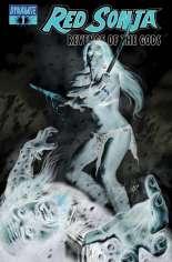 Red Sonja: Revenge of the Gods #1 Variant C: Negative Cover