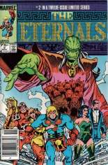 Eternals (1985-1986) #2 Variant A: Newsstand Edition