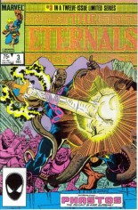 Eternals (1985-1986) #3 Variant B: Direct Edition