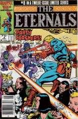 Eternals (1985-1986) #8 Variant A: Newsstand Edition