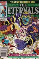 Eternals (1985-1986) #12 Variant A: Newsstand Edition
