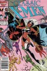 Classic X-Men (1986-1990) #4 Variant A: Newsstand Edition