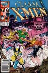 Classic X-Men (1986-1990) #6 Variant A: Newsstand Edition