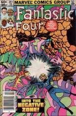 Fantastic Four (1961-1996) #251 Variant A: Newsstand Edition