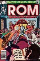 Rom (1979-1986) #15 Variant A: Newsstand Edition