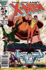 Uncanny X-Men (1963-2011) #206 Variant A: Newsstand Edition