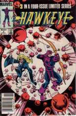 Hawkeye (1983) #3 Variant A: Newsstand Edition