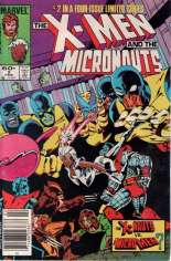 X-Men and the Micronauts (1984) #2 Variant A: Newsstand Edition