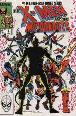 X-Men and the Micronauts (1984) #1 Variant B: Direct Edition
