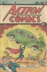 Action Comics (1938-2011, 2016-Present) #1 Variant B: 1976 Sleeping Bag Reprint; 10 Cent Cover Price
