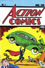 Action Comics (1938-2011, 2016-Present) #1 Variant H: 1991 Reprint; 50 Cent Cover Price