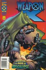 Weapon X (1995) #4 Variant A: Newsstand Edition