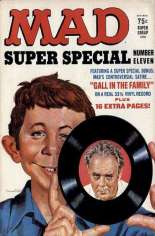 Mad Special (1970-1999) #11: Bonus: ''Gall in the Family'' 33 1/3 Vinyl Record
