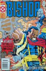 Bishop (1994-1995) #1 Variant A: Newsstand Edition