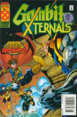 Gambit and the X-Ternals (1995) #4 Variant A: Newsstand Edition