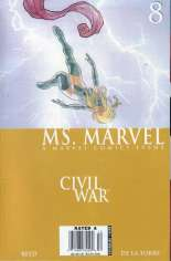 Ms. Marvel (2006-2010) #8 Variant A: Newsstand Edition