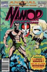 Namor the Sub-Mariner (1990-1995) #Annual 1 Variant A: Newsstand Edition; Interior incorrectly credits as Part 5 of Subterranean Wars