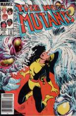New Mutants (1983-1991) #15 Variant A: Newsstand Edition