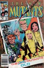New Mutants (1983-1991) #32 Variant A: Newsstand Edition