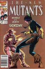 New Mutants (1983-1991) #41 Variant A: Newsstand Edition