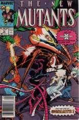 New Mutants (1983-1991) #74 Variant A: Newsstand Edition