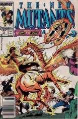 New Mutants (1983-1991) #77 Variant A: Newsstand Edition