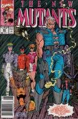 New Mutants (1983-1991) #90 Variant A: Newsstand Edition