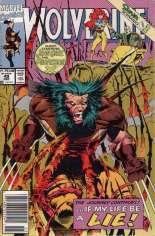 Wolverine (1988-2003) #49 Variant A: Newsstand Edition