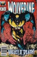 Wolverine (1988-2003) #67 Variant A: Newsstand Edition