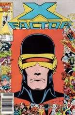 X-Factor (1986-1998) #10 Variant A: Newsstand Edition