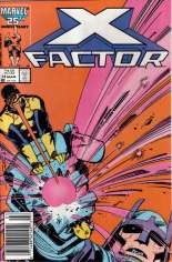 X-Factor (1986-1998) #14 Variant A: Newsstand Edition