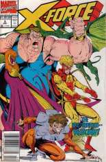 X-Force (1991-2002) #5 Variant A: Newsstand Edition