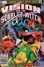 Vision and the Scarlet Witch (1982-1983) #3 Variant A: Newsstand Edition