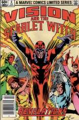 Vision and the Scarlet Witch (1982-1983) #4 Variant A: Newsstand Edition