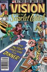 Vision and the Scarlet Witch (1985-1986) #6 Variant A: Newsstand Edition