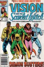 Vision and the Scarlet Witch (1985-1986) #8 Variant A: Newsstand Edition